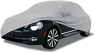 CarsCover Custom Fit 1998-2010 Volkswagen New Beetle Car Cover for 5 Layer Ultrashield Waterproof VW Beetle