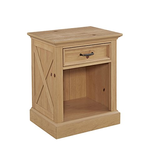 Country Lodge Pine Night Stand by Home Styles