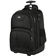 COMPARTMENT: Rolling backpack built-in separate fully-padded laptop pocket hold laptops less than 15 6 Inch as well as 15 Inch 14 Inch and 13 Inch Macbook. 38L Large Main Compartment roomy hold books for school or clothing for an overnight trip. Seco...