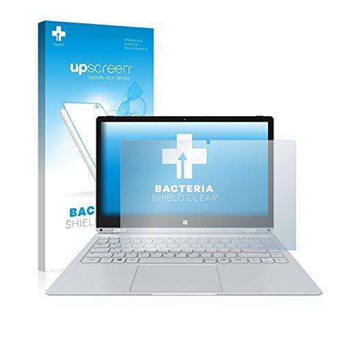 upscreen Antibakterielle Schutzfolie kompatibel mit TrekStor Primebook C13 klare Bildschirmschutz-Folie