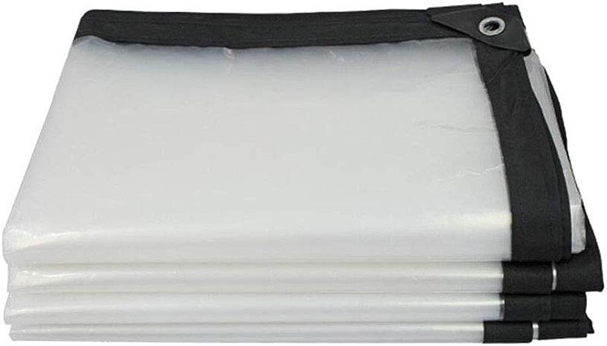 M-X-Y Bache serreTissu imperméable imperméable résistant de Prougeection Solaire de bache Claire pour l'isolation de bache de Parasol de Camion extérieur,5  8m