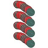 PRETYZOOM 4Pcs Guirnalda de Puntos de Navidad Círculo de Papel de Navidad Puntos Colgantes Serpentinas de Fiesta para Fiesta de Navidad Serpentinas Colgantes Bandera Decoración de La