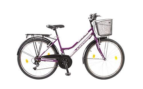 Unbekannt 24 Zoll Kinder Fahrrad Kinderfahrrad Cityfahrrad City Mädchenfahrrad Bike Rad 21 Gang FUNTASIA LILA