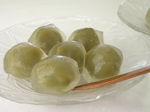 【冷凍】ミニくずまんじゅう(抹茶あん) 20g×12個入【化学調味料・合成着色料・合成保存料無添加】8個セット