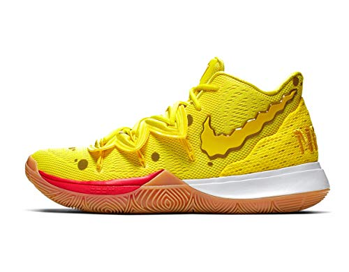 Kyrie 5 (GS) SBSP Spongebob Collection Opti Yellow Size 7Y