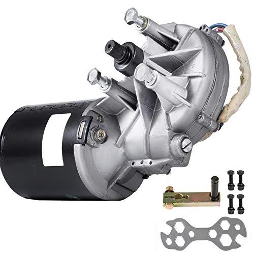 Mophorn Motor de Corriente Continua 12V 120W DC Motor Eléctrico de CC Motor Eléctrico de Reducción de Engranajes