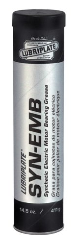 Lubriplate SYN-EMB L0335-098 (PAO)-Based, Lithium Complex Type, Synthetic Grease for Electric Motor Bearings, Contains 40/14.5 oz Cartons (Pack of 40)