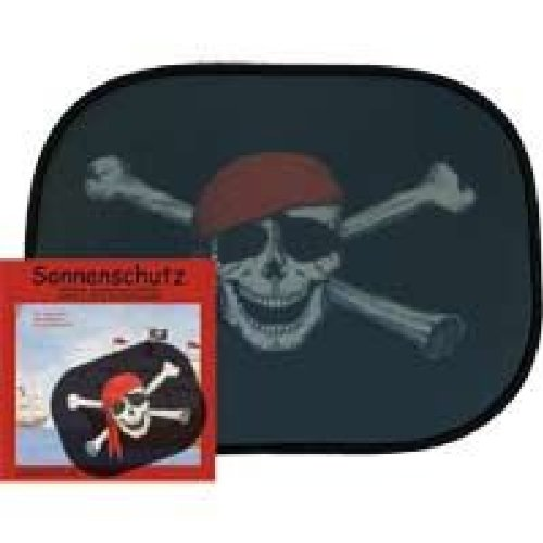 Pirat Zonwering voor de auto, 2-delig pak