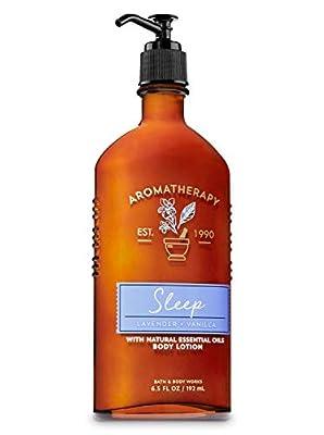Bath & Body Works Aromatherapy Sleep - Lavender + Vanilla Body Lotion, 6.5 Fl Oz