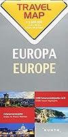 Reisekarte Europa 1:2.500.000: Travel Map Europe