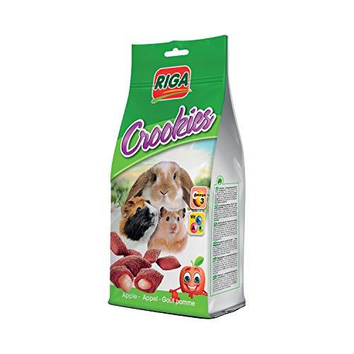 Riga Crookies Goût Pomme Friandises pour Rongeur 50 g