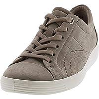 ECCO Women's Soft 7 Stitch Tie Sneaker (Warm Grey)