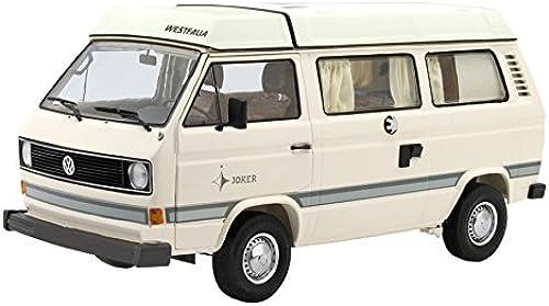 Schuco 450038600 - Modellauto  VW T3 Joker Campingbus  mit Faltdach 1 18