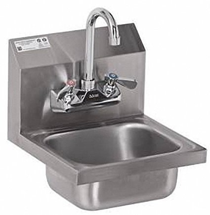 "Stainless Steel Hand Sink - NSF - Commercial Equipment 12"" X 12"""