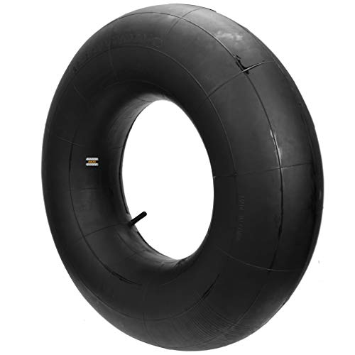 HIAORS 23x8.50-12 / 23x9.50-12 / 23x10.50-12/23.5x8.5-12 Inner Tube with Straight Valve Stem for Lawn lawnmower Garden Tractor ATV 4 Wheel Golf Cart Snowthrowers Trailers 1Pcs