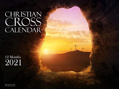 Christian Landscape Bible Verse Wall Calendar 2021