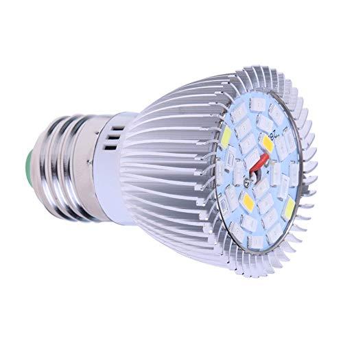 Asiproper Pflanzenleuchte LED Grow Light Full Spectrum SMD 5730 LED wachsen leichte Pflanzenwuchslampe für Gewächshaus-Hydrokultur im Innenbereich (E27 10W)