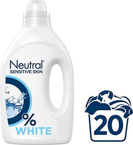 Neutral Wasmiddel Vloeibaar Hoofdwas Wit, 1000 ml