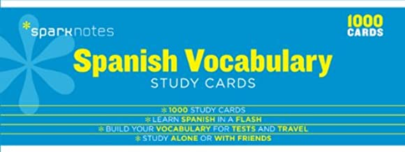 Best sparknotes spanish vocabulary study cards Reviews
