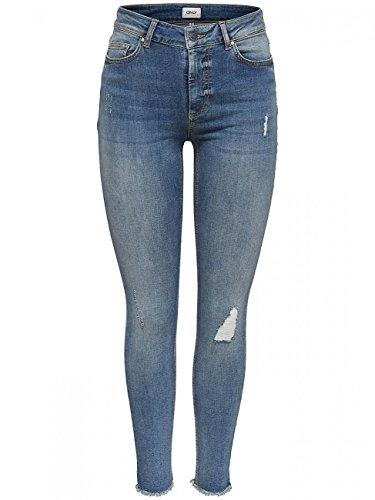 ONLY Female Skinny Fit Jeans ONLBlush Knöchel- XS32Light Blue Denim