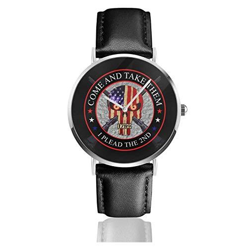 Ven y tómalos, suplico el Segundo Reloj Deportivo Impermeable de Cuarzo, 38 mm, Reloj para Mujer, Resistente al Agua para Hombre