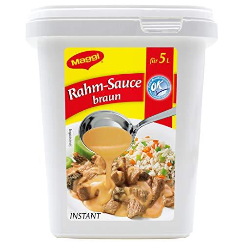 Maggi Rahm-Sauce braun, vegetarisch, 1er Pack (1 x 750g Gastro Box)