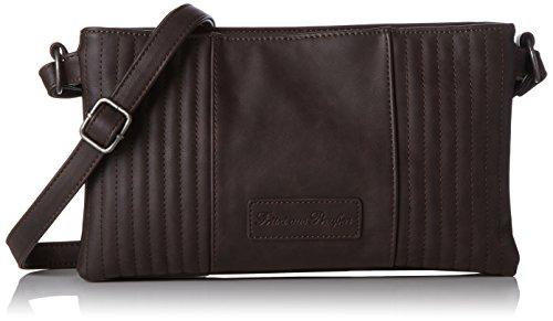 Fritzi aus Preussen Damen Evita Business Tasche, Braun (Mocca), 2x18.5x31 cm