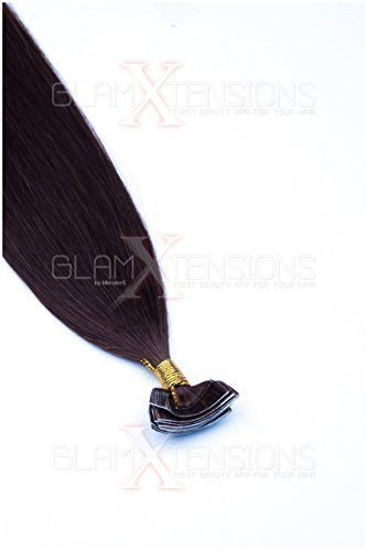 100% Remy Hair Tape In on Extensions cheveux 100 g 50 cm