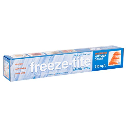 Freeze-Tite Premium Plastic Freezer Wrap-15' x 250 ft.