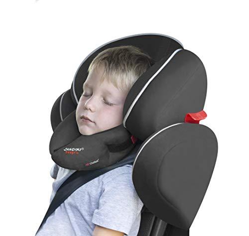 SANDINI SleepFix Kids Outlast – Cojín infantil con función de sujeción y compensación de temperatura - Accesorios de asiento infantil - Evita que la cabeza de su hijo caiga mientras duerme