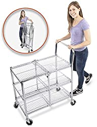 Heavy Duty Folding Utility Cart