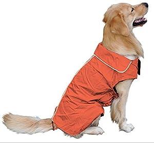 Veste de chiens, chaud et imperméable pour l'hiver Vivi Bear, doublée en laine polaire pour animal domestique, chiot ou grand chien, 7tailles