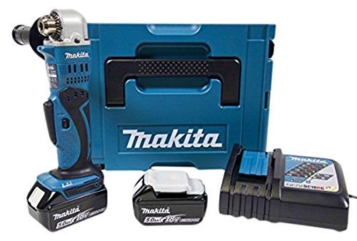Makita DDA350RTJ accu-haakse boormachine 18 V ZKBF / 5.0 Ah, 2 accu's en oplader in MAKPAC