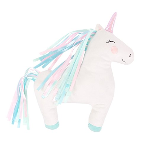 Sass & Belle, unicorno arcobaleno, cuscino per la stanza dei giochi o cameretta dei bambini