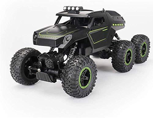 ASMART Outdoor-Lernspielzeug, Fernsteuerungsauto- 2.4Ghz 4Wd Off Road High Speed Rc Auto Double Motor Dual-Motoren Rock Crawler Graffiti Racing Monster Truck Spielzeug für draußen