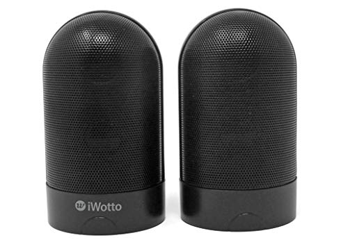 iWotto Altavoces Duo Estereo Bluetooth Imantados, Stereo Duo Speakers BT Magnetized, Color...