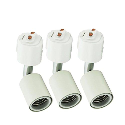BRTLX ダクトレール用スポットライト E26口金 電球なし E26ソケット ライティングバー用照明器具セット ラ...