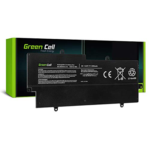 Green Cell® Batería para Toshiba Portege Z930 Z930-03Q Z930-101 Z930-102 Z930-105 Portátil (1900mAh 14.8V Negro)