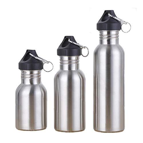 Oulensy Acero Inoxidable Que La Botella De Agua Aire Libre Deportes Viajes Montar La Ancha De 500 Botellas De Bebidas