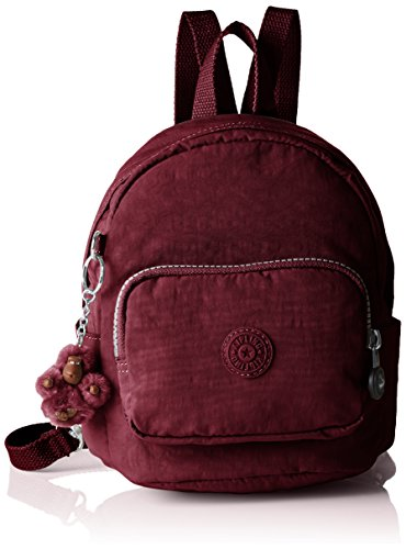 Kipling Mini Backpack, Bolso de Mochila para Mujer, Rojo, 17x19x21.5 cm (B x H x T)