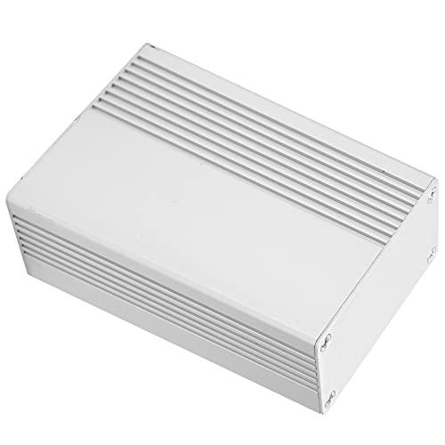 Caja de Aluminio, práctica Caja de Caja electrónica Superficie de Metal Brillante y ordenada para Caja de Conexiones para reemplazar la Antigua para Placa de Circuito PCB