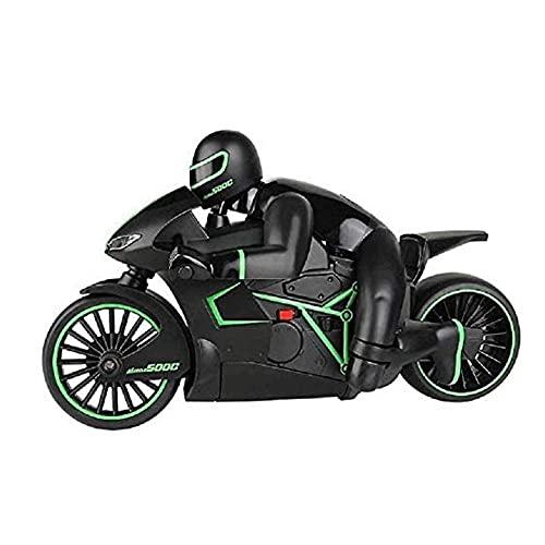 UimimiU RC Motorrad RC Auto RC Motorrad Modell Spielzeug 2,4g Mini Mode mit coolen Licht High Speed Boy Kind Telecontrol Spielzeug Fernbedienung Drift Motor Kinder Spielzeug Kinder Geschenke