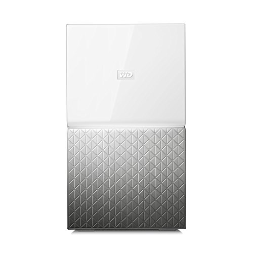 WD My Cloud Home Duo 8 TB Persönlicher Cloudspeicher - externe Festplatte 2-Bay - WLAN, USB 3.0. Backup, Videostreaming - WDBMUT0080JWT-EESN