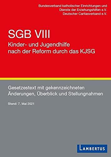 SGB VIII - Kinder- und Jugendhilfe nach der Reform durch das KJSG: Gesetzestext mit gekennzeichneten Änderungen, Überblick und Stellungnahmen