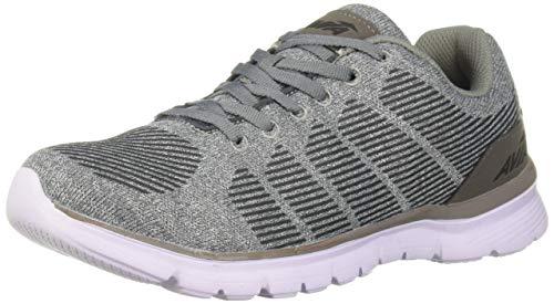 Avia Women's Avi-Rift Sneaker, Cool Mist Grey/Frost Grey/Black, 10 Medium US