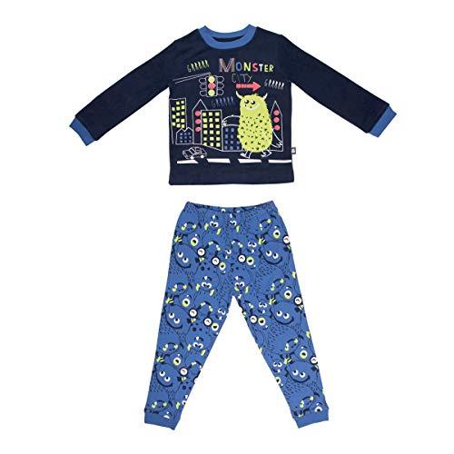 Petit Béguin - Pyjama garçon manches longues Monster City - Taille - 2/3 ans
