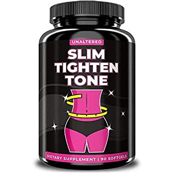 UNALTERED Slim & Tone - Women s Belly Fat Pills - Natural Tightening Formula for Stomach Fat - Keto Diet Friendly Supplement - 90 Softgels