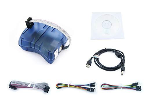 Waveshare ATMEL AVR Programmer USB AVRISP XPII Compatible Atmel at AVR ISP mk2 mkII In-System Programmer Supports AVR Studio 4/5/6