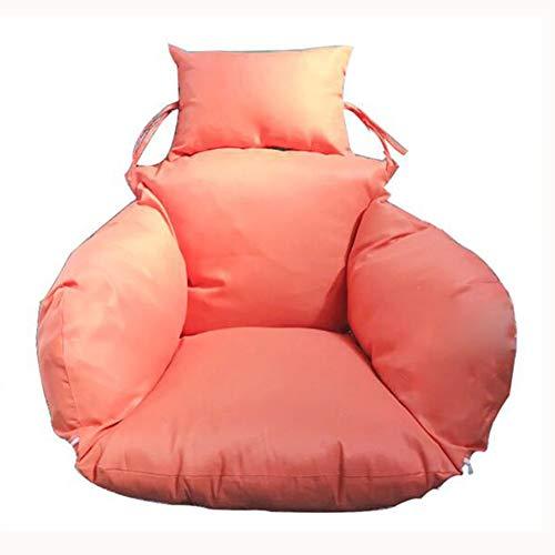 SXFYWYM Zitkussen, eenkleurig, wasbaar, Hanging Egg Hammock Chairs Pads