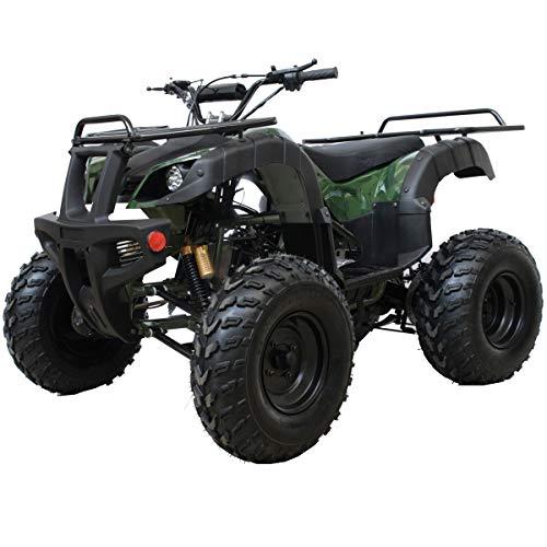 X-Pro ATV 200B Quad 4 Wheelers Utility ATV Full Size ATV Quad Adult ATVs Big Youth ATVs for Sale with Big Shining LED Headlight (Tree Camo)